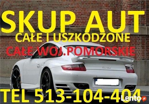 Skup Aut Lębork t.513104404 Mosty, Nowa Wieś Lęborska