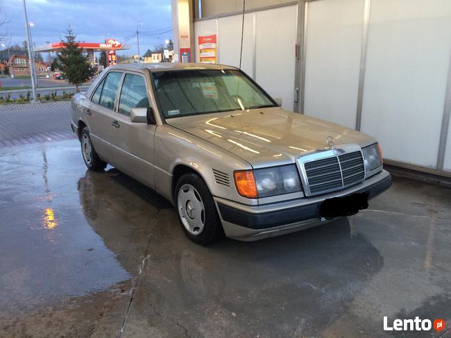 1988 Mercedes-Benz W124 300d TURBO - Samochód osobowy