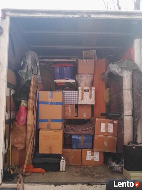 Przeprowadzki - transport - wnoszenie/znoszenie mebli