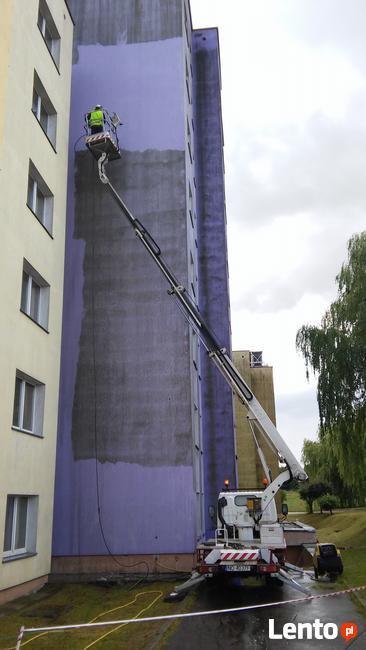 Mycie elewacji, dachów, odgrzybianie, Warszawa i okolice