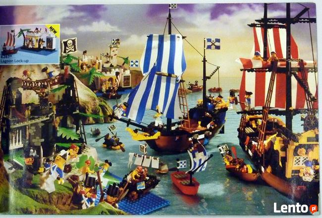 KUPIĘ klocki lego - stare zestawy PIRATES PIRACI