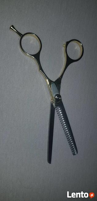 Nożyczki fryzjerskie do rozrzedzania włosów fryzjer profesjo