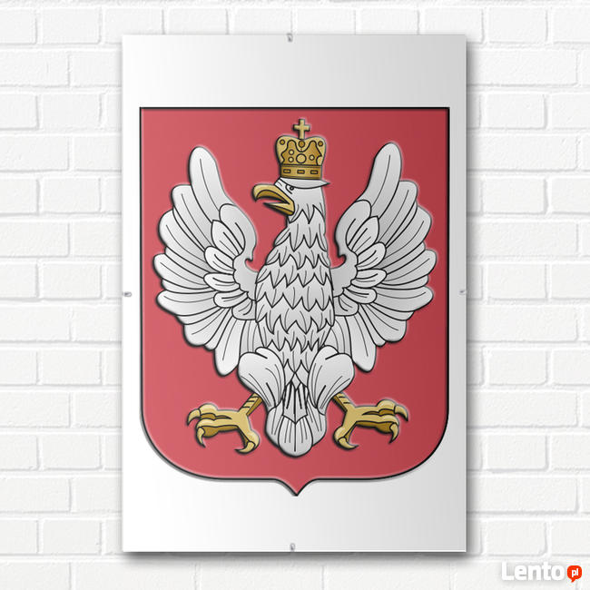 GODŁO POLSKI II RP 1926 HERB PRZEDWOJENNY OPRAWA