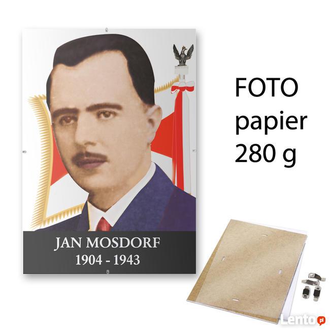 PORTRET ZDJĘCIE JAN MOSDORF W ANTYRAMIE OBRAZ