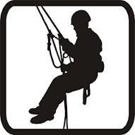 Montaż reklam, prace na wysokości, alpinizm przemysłowy