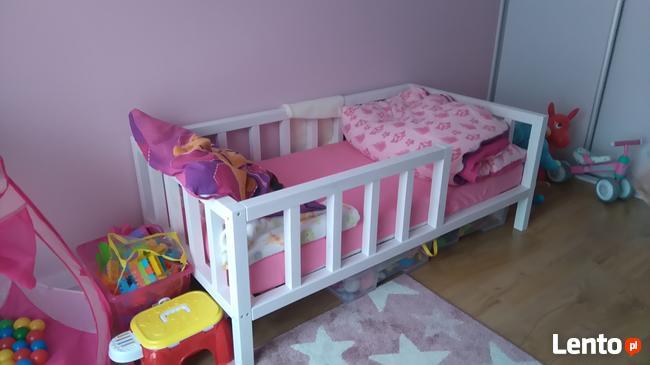 Promocja Klasyczne Drewniane łóżko Dla Dziecka Scandi Style