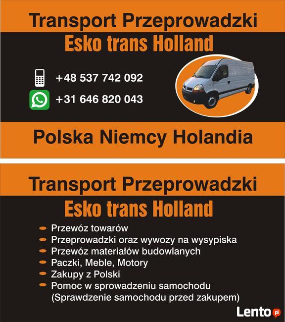 Transport/Przeprowadzki/Polska/Niemcy/Holandia