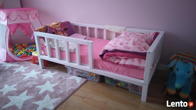 PROMOCJA klasyczne drewniane łóżko dla dziecka/ scandi style