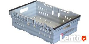 Skrzynka plastikowa, pojemnik, kosz 600x400x199 mm