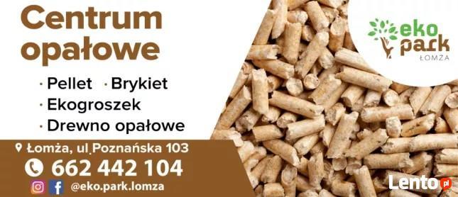 Pellet przemysłowy 8 mm 690zł / PROMOCJA Eko Park Łomża