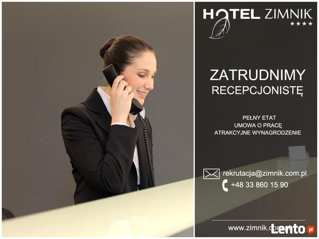 Recepcjonista Recepcjonista Hotel Zimnik