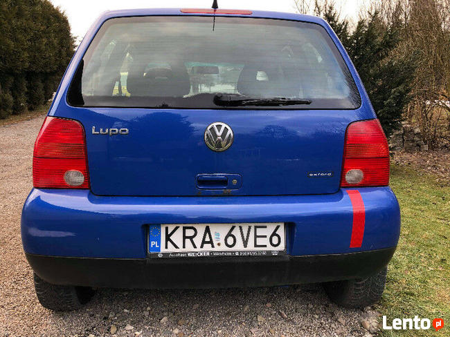 VW Volkswagen Lupo 3000 zł 2002 r.