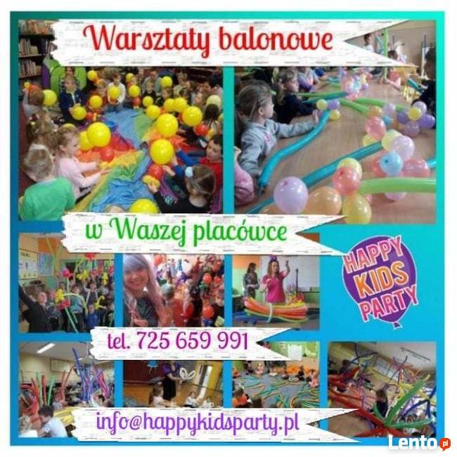 Warsztaty balonowe dla dzieci! Warsztaty slime ! Animacje !