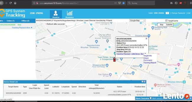 lokalizator GPS do śledzenia auta magnes neodymowy CAŁA PL