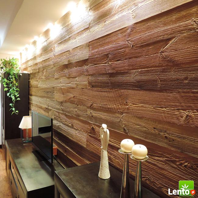 Stare drewno-niebanalny pomysł na wystrój wnętrz.