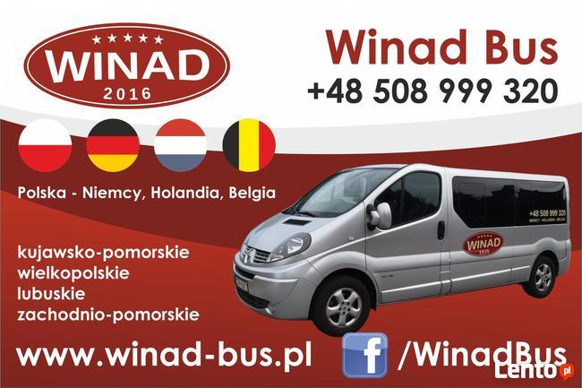 Winad Bus Busy do Niemiec, Holandii, Belgii