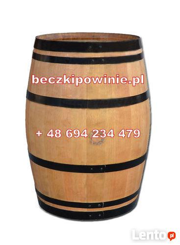 Beczka Dębowa po winie 225L dekoracyjna Klasa A+