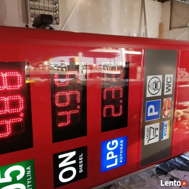 Pylon cenowy na stacje paliw - super cena