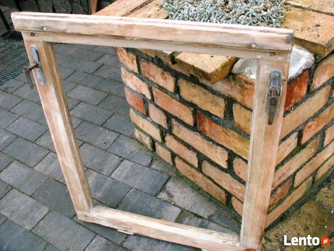 Rama okienna lustro aranżacja wnętrz obraz okno loft 56x69