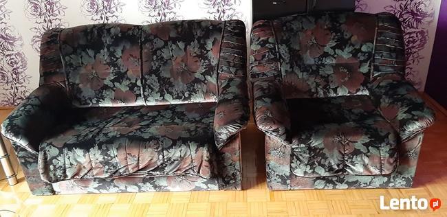 Sofa Kanapa łóżko Komplet 321 Pleszew