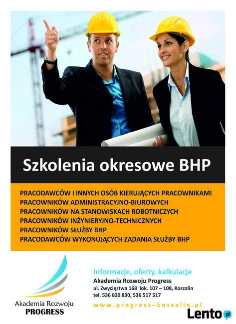 Szkolenia okresowe, wstępne BHP / Szkolenia p.poż.