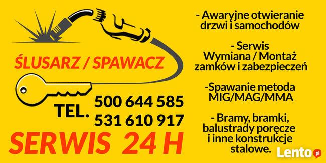 Mobilny Ślusarz / Spawacz / Awarie 24h