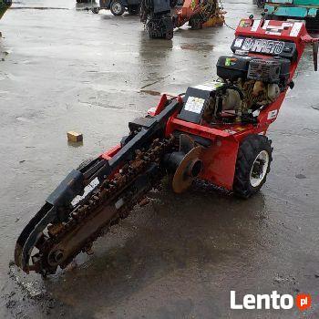 wynajem koparki łańcuchowej rębak spalinowy traktorek