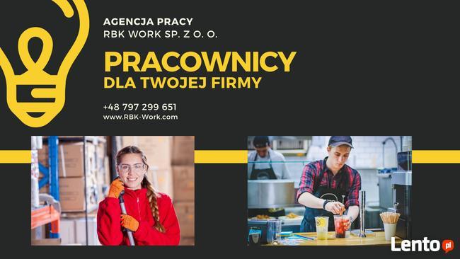 Agencja Pracy RBK-Work | Leasing | Pracownicy z Ukrainy