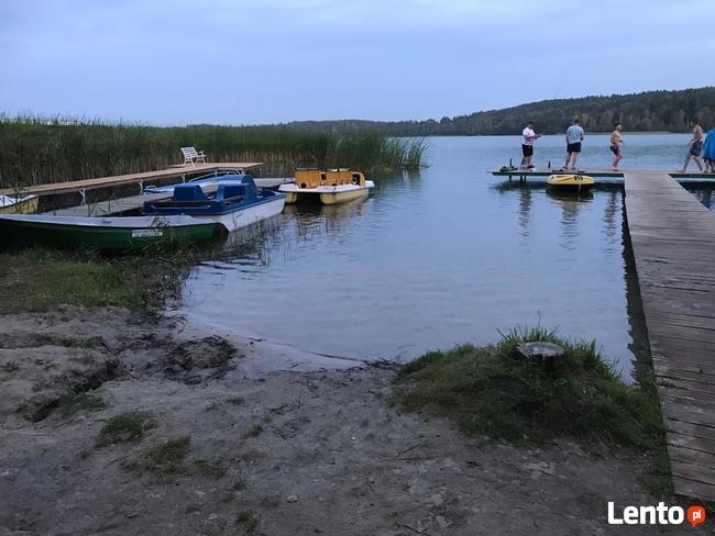 Domki letniskowe nad jeziorem Kaszuby Bory Tucholskie nocleg