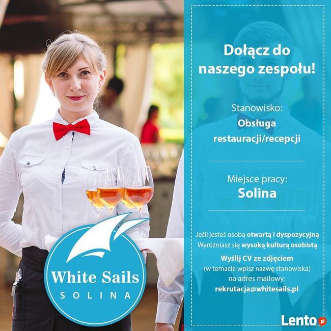 Pracownik restauracji i recepcji -PRACA NA STAŁE