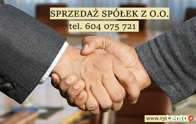 od 1400 zł Sprzedaż spółek z o.o. z VAT PL i UE , spółka zoo