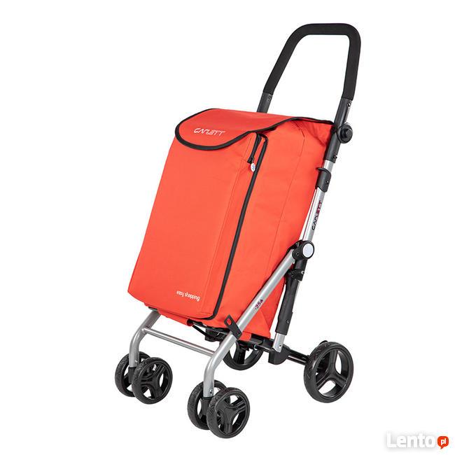 Wózek na Zakupy SKŁADANY Carlett NOWY !
