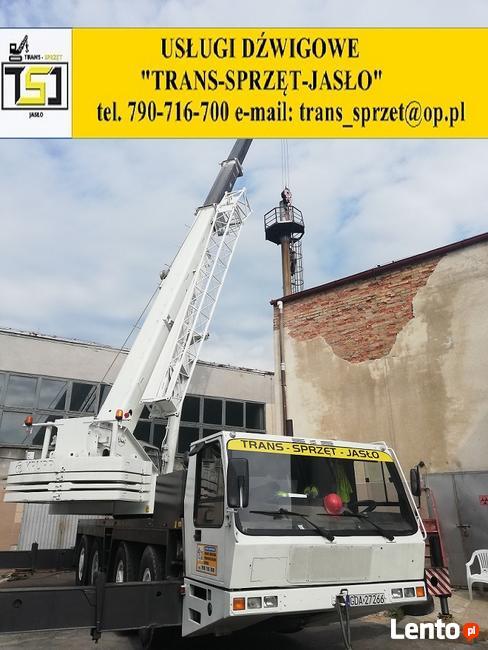 tel:790-716-700 Usługi dźwigowe Jaśle, Krośnie,Gorlicach,