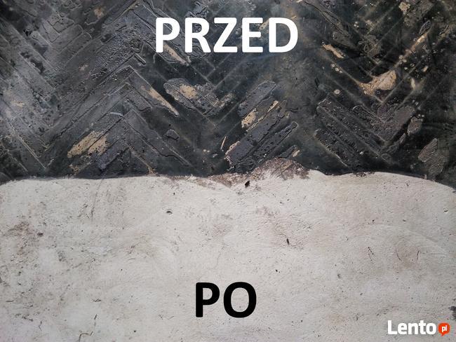 Usuwanie Subitu Katowice Kleju Lepiku Frezowanie Chorzów