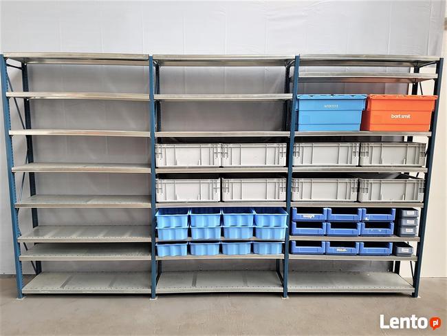 REGAŁ 60x312x200cm/18p Metalowy Magazynowy Półkowy Garażowy