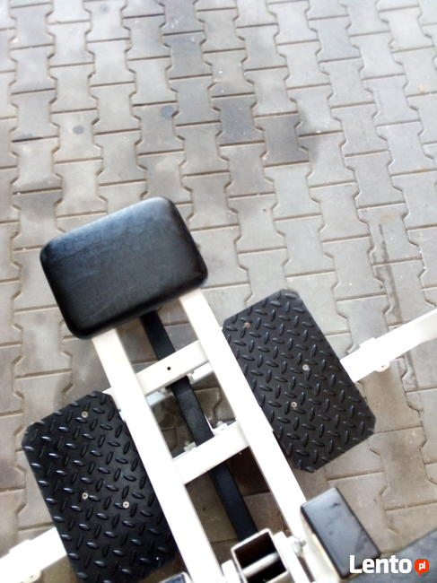 ławka ławeczka do ćwiczeń regulowana do sztangi