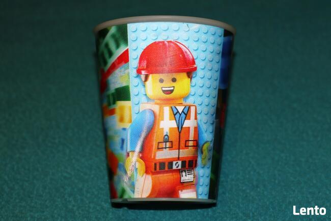 LEGO kubek z hologramem Kicia Rożek Emmet Klockowski Przygod