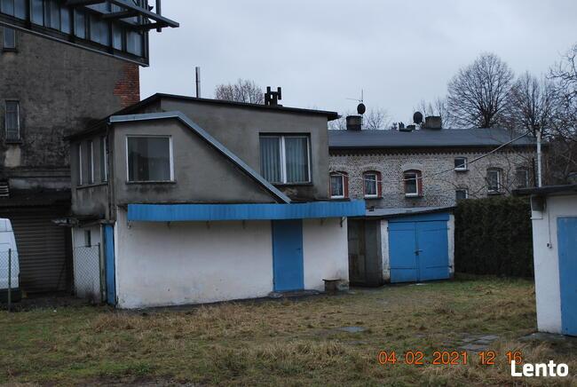 Katowice Ochojec działka 410m2+garaże+bud.na działaln.2200zł