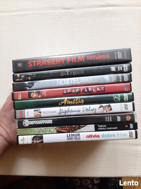 Płyty dvd i cd