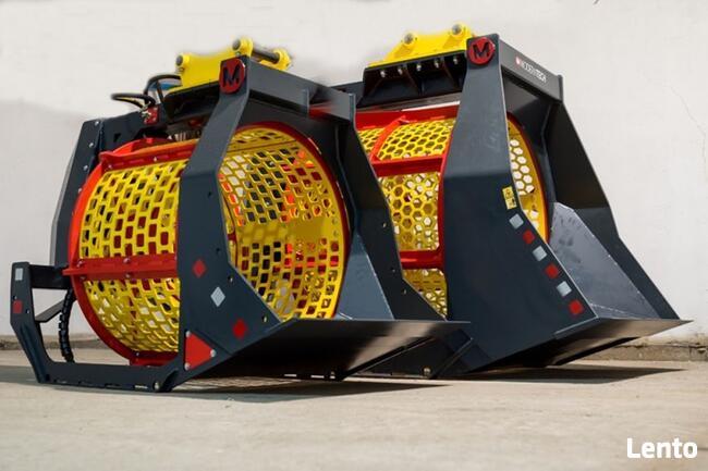 Przesiewacz - łyżka przesiewająca MAX -1000L