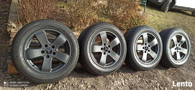 Felgi Koła Aluminiowe RONAL 225/55/R16 FALKEN 7,5mm 5x112 M