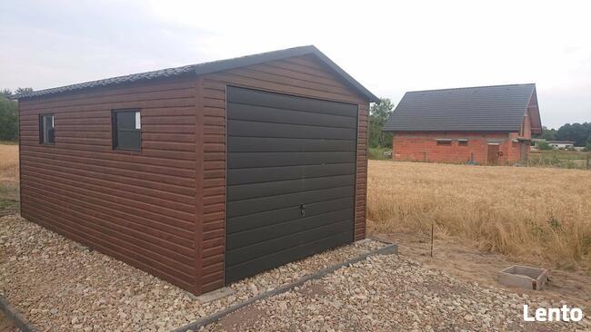 Garaże drewnopodobne premium 6x5 6x6 7x5