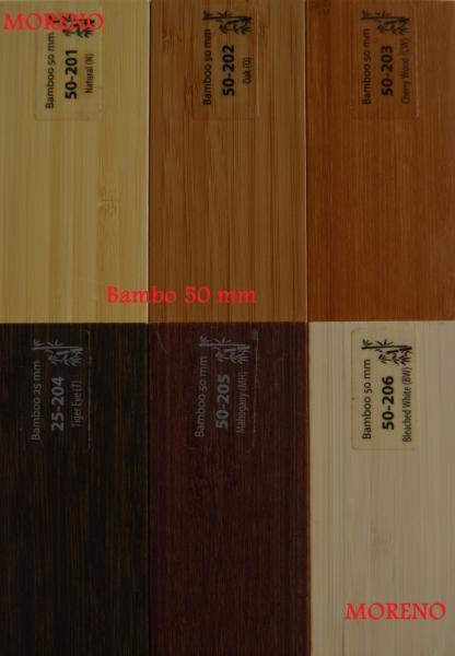 Żaluzje drewniane bambusowe RABATY