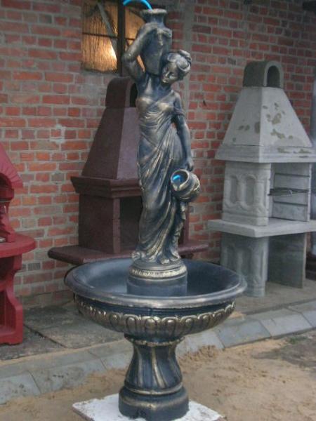 DAMA z dzbanuszkiem fontanna wys 195cm