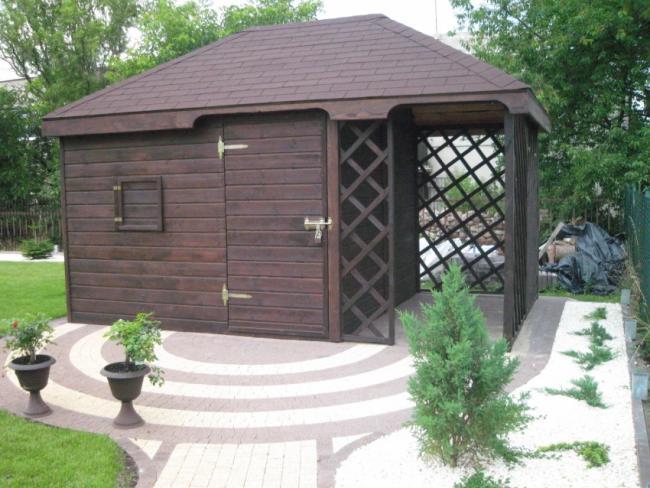 Domki Ogrodowe Projekty Domki Narzędziowe Ogrodowe
