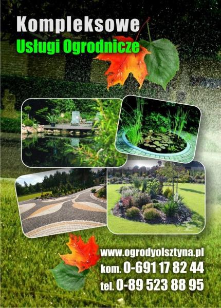 Urządzanie ogrodów ogrodyOlsztyna.pl