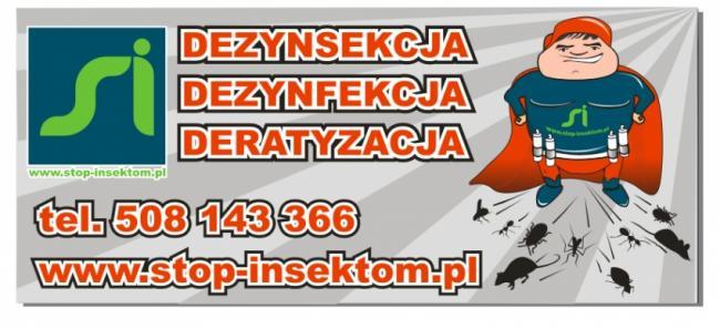 Dezynsekcja Dezynfekcja Deratyzacja Łódzkie Stop-insektom