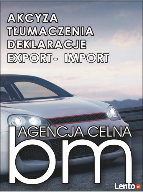 Tłumaczenia * Akcyza * Rejestracja pojazdów