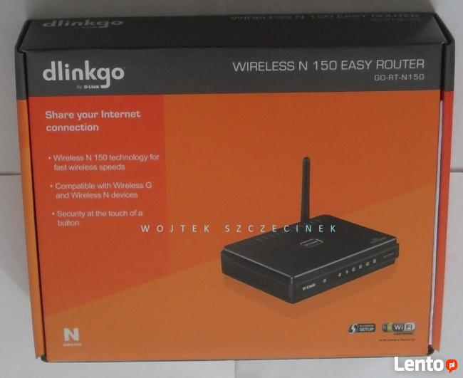 D-link Router - Nowy