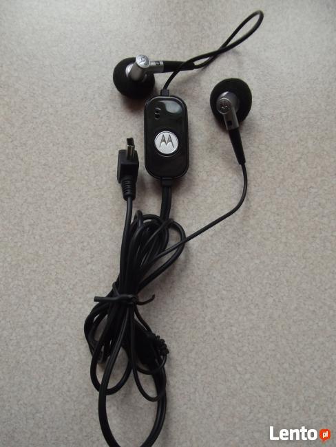 Zestaw słuchawkowy MOTOROLA S200 Czarny